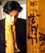 Grafitti Yellow Tie