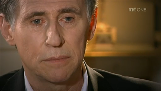 Gabriel Byrne appears on The Meaning of Life, January 17, 2010