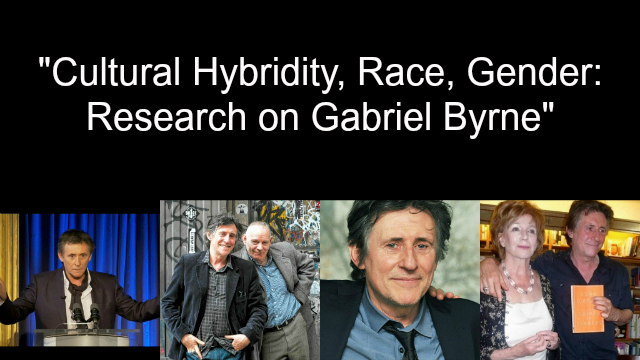 Updated August 18: BlogTalkRadio: Research on Gabriel Byrne