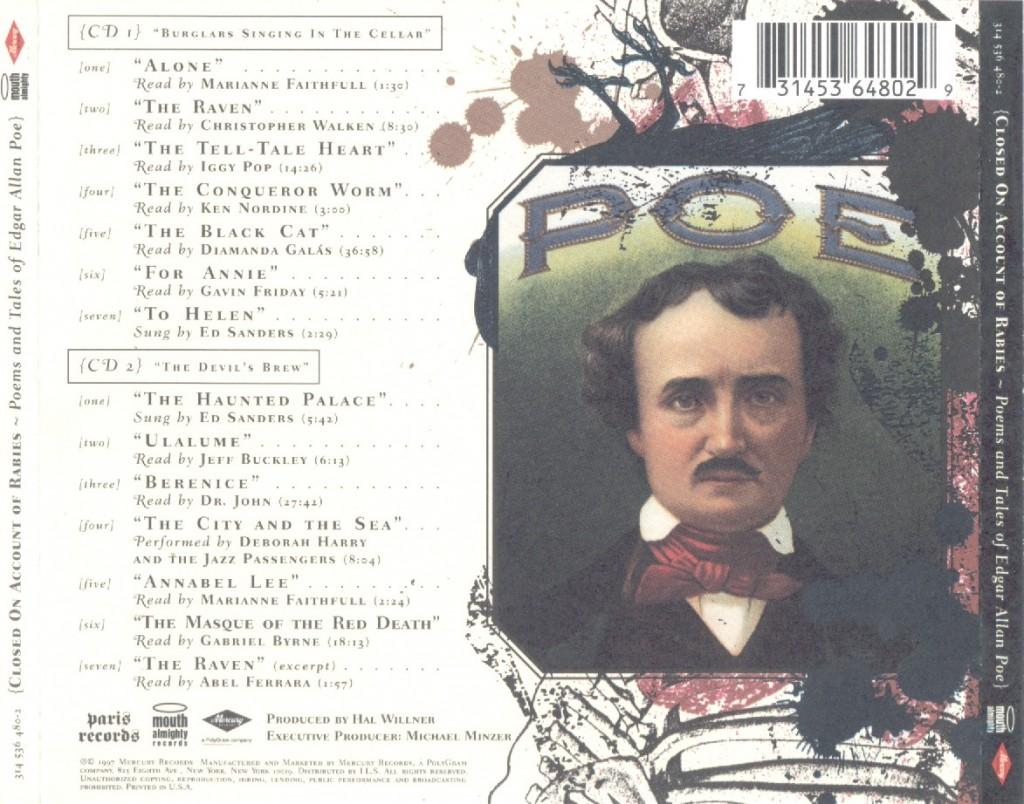 poe-closed-on-account-of-rabies-audiobook-backcover