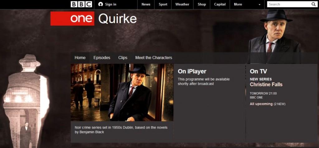 quirke-bbc-one-website-screenshot