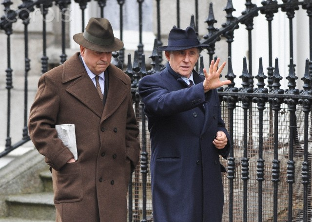 BBC Crime thriller Quirke filmed in Dublin