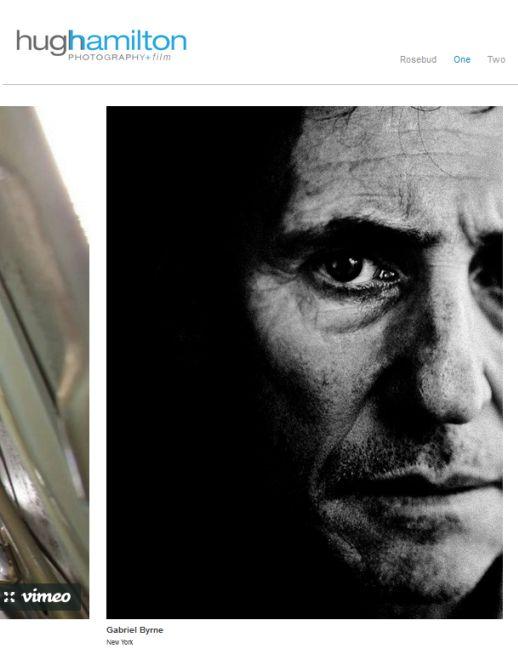 Gabriel Byrne by Hugh Hamilton