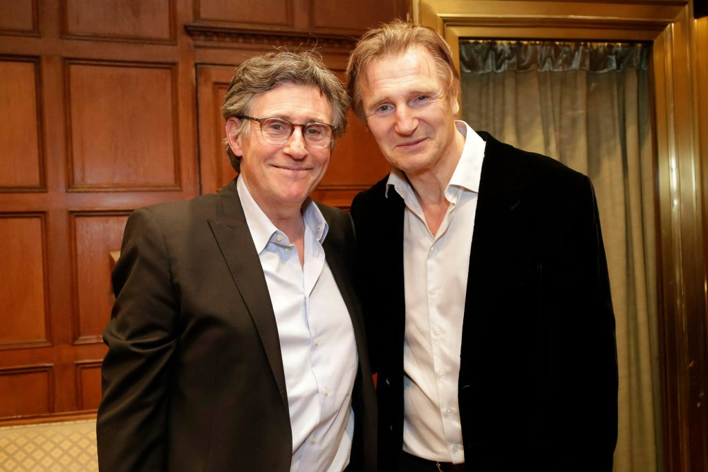 Honorary Co-Chairs Gabriel Byrne and Liam Neeson