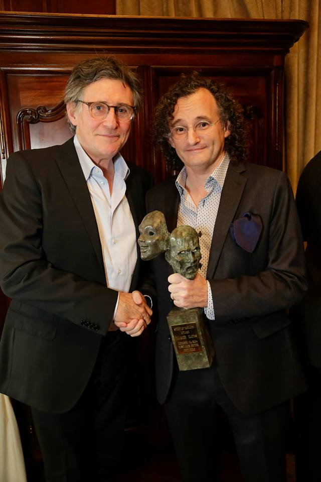 Gabriel Byrne and honoree Martin Hayes