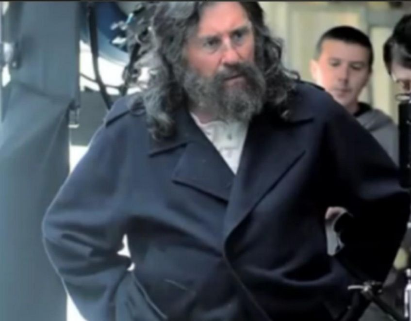 Gabriel Byrne as explorer Robert Peary