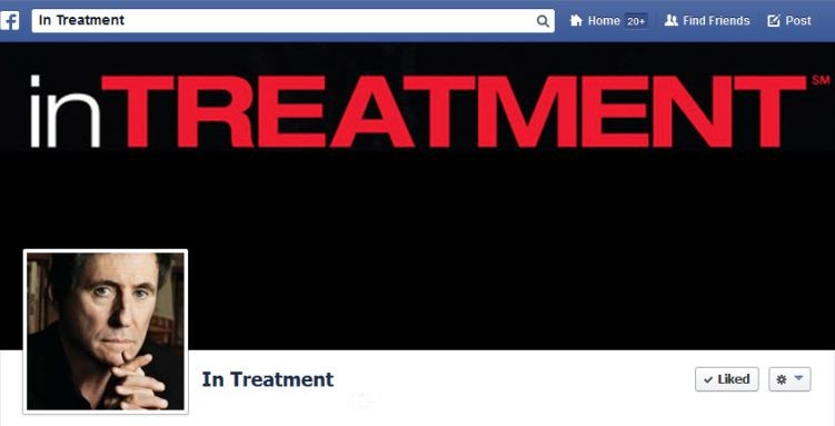 In Treatment Facebook Page