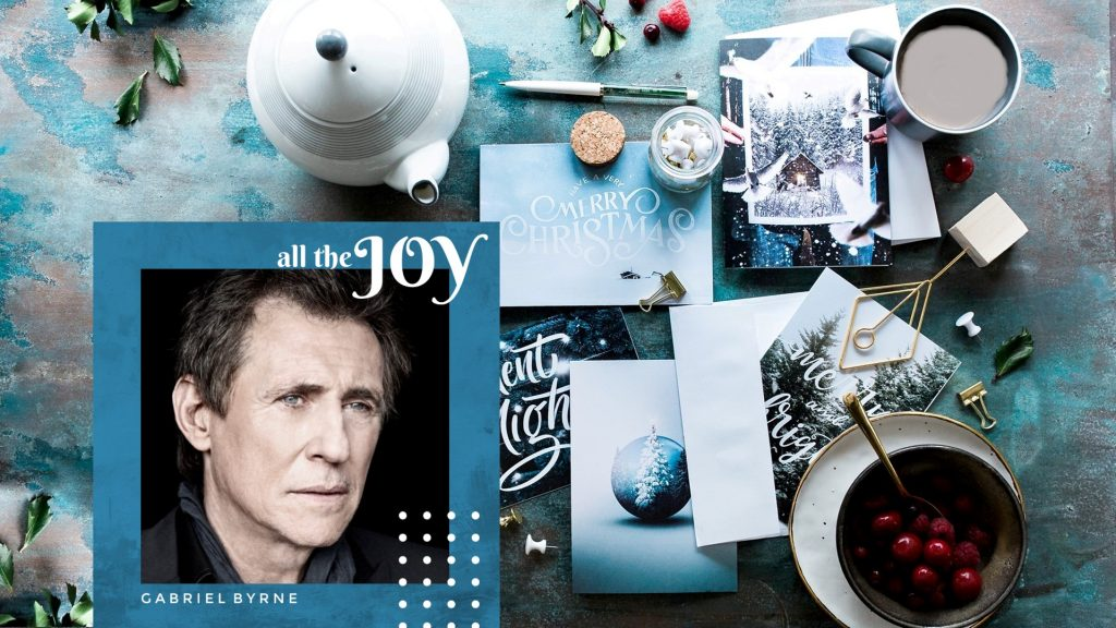 Writing cards Gabriel Byrne Holiday Wallpaper