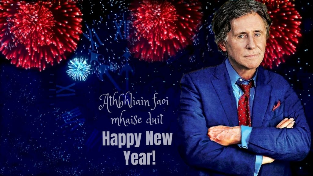 Gabriel Byrne New Year Wallpaper