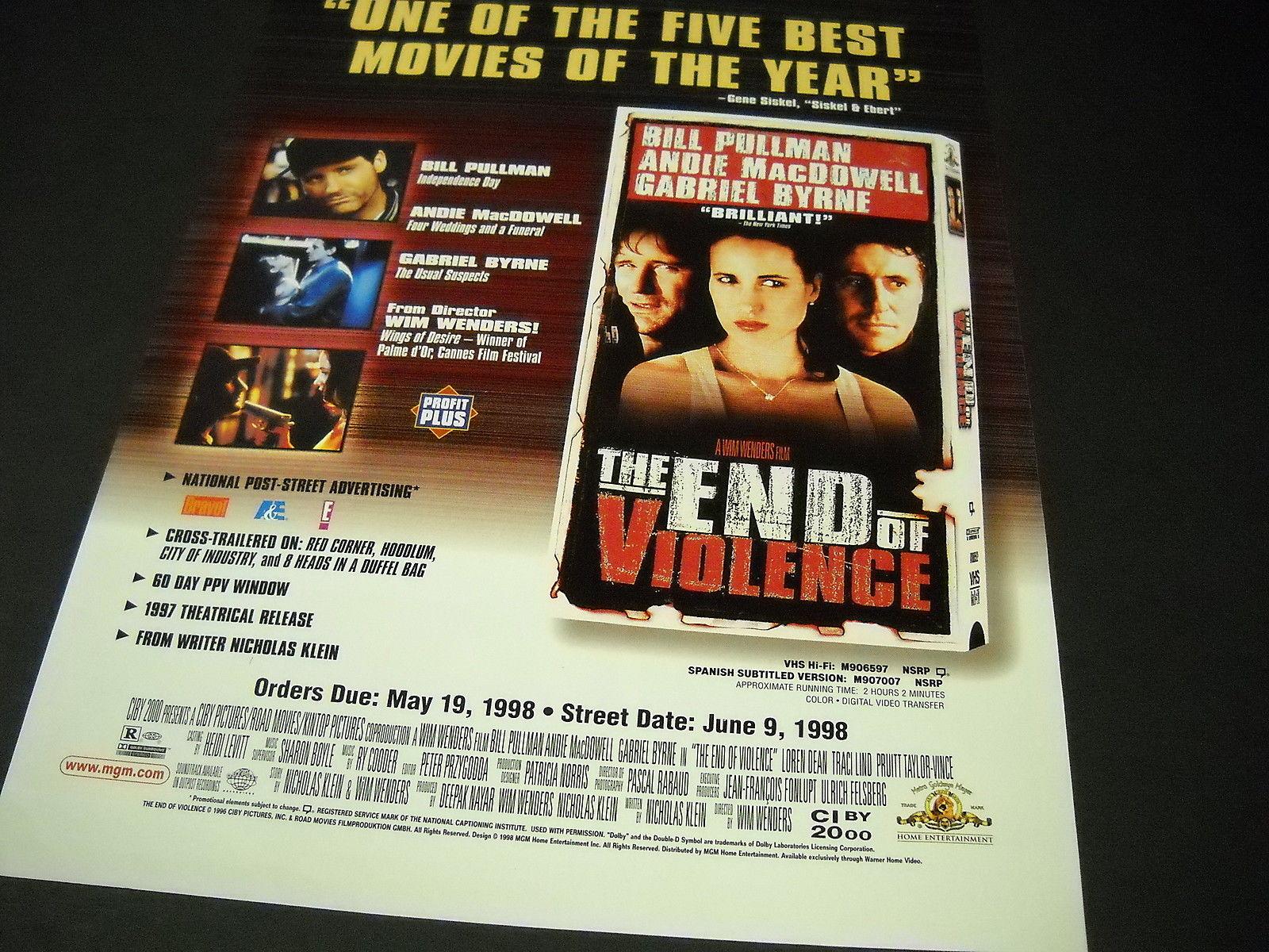 The End Of Violence 1997 Byrneholics Online The End of Violence